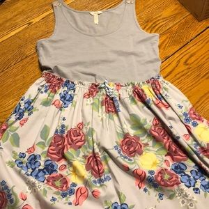 Matilda Jane tank style dress.  Size Large.